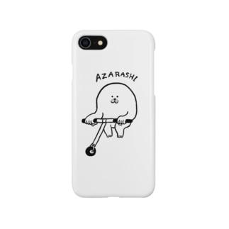 飛んじゃうアザラシ Smartphone cases