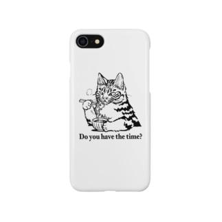 時そば猫 Smartphone cases