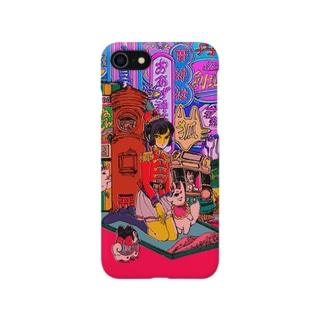 おあげ神社 Smartphone cases