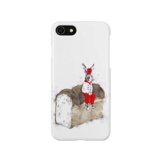 ウサギ食パン Smartphone cases