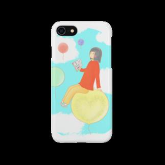 しろながすとさくらの文学少女と風船の世界 Smartphone cases