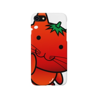 Ally's GoodsのAlly's TOMATO CAT Smartphone cases
