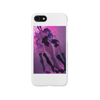 Which girl would like to be tricked? (Adjust to iPhone7/8)  Smartphone cases