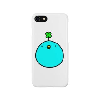 幸せかもしれない青い鳥 Smartphone cases