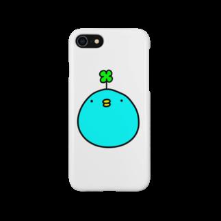 幸せかもしれないゆりおの幸せかもしれない青い鳥 Smartphone cases