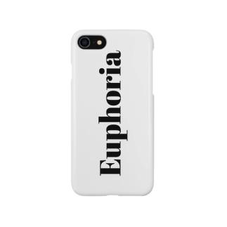 Euphoriaケース 白 Smartphone cases