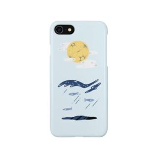 夜の海 Smartphone cases