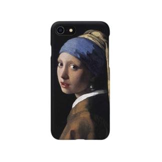 青いターバンの女 Smartphone cases