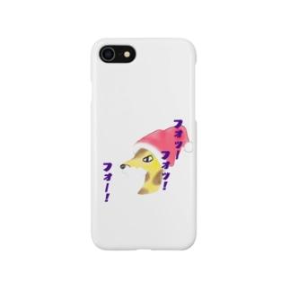 サンタキリンゴ Smartphone cases