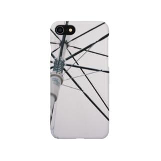 雨の日の傘 Smartphone cases