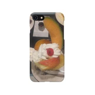 フルーツクリームパフェ Smartphone cases