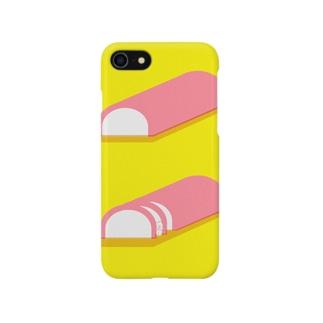 かまぼこサンド Smartphone cases