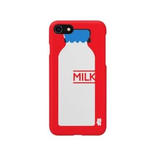 かわしまさきのすこやかミルク Smartphone cases