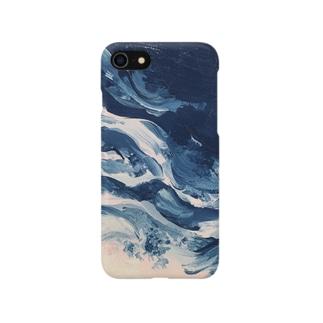 よるの波 Smartphone cases