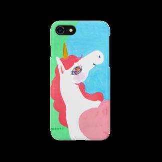 橋本京子の爽やかunicorn No.3 Smartphone cases
