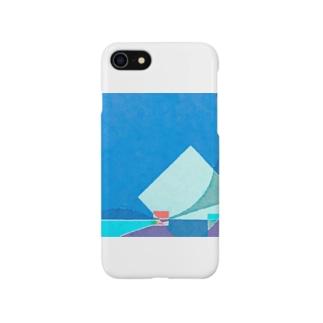 極寒の海を進む Smartphone cases
