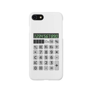 電卓 Calculator スマートフォンケース