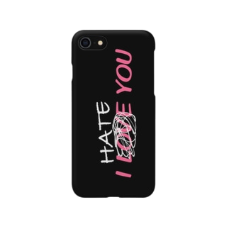 i Hate You2 Smartphone cases
