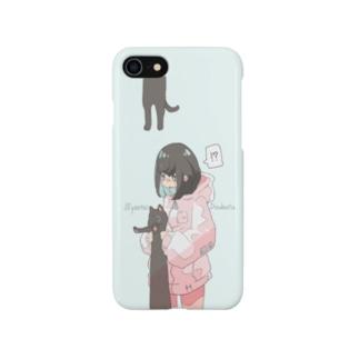 にゃんたいどうぶつケース Smartphone cases