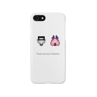 Those who love Chestton. Smartphone cases