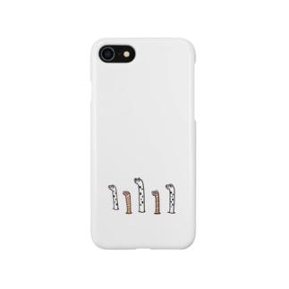 チンアナゴ&ニシキアナゴブラザーズ Smartphone cases