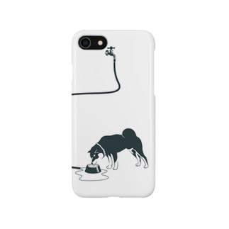 クロ柴さん Smartphone cases