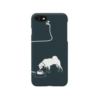 シロ柴さん Smartphone cases