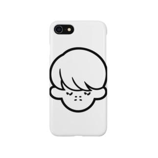 hicono webstoreのふきげんボーイ2 Smartphone cases