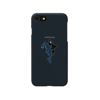 フカヒレくん Smartphone cases