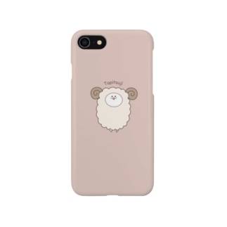 たぴつじあいぽんケース Smartphone cases