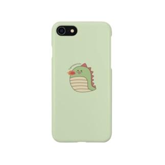 たぴのさうるすあいぽんケース Smartphone cases