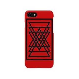 シンプルな三角 Smartphone cases