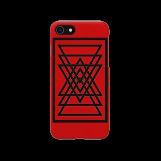 Gx3のシンプルな三角 Smartphone cases