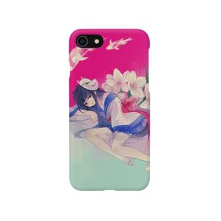 鬼と華 Smartphone cases