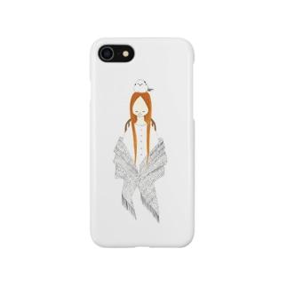 シマエナガの休息 Smartphone cases