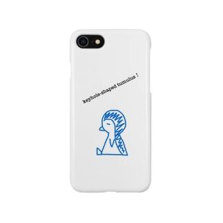 前方後円墳ペンギン Smartphone cases