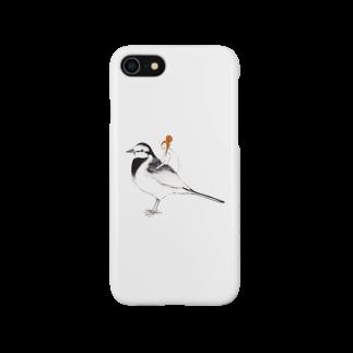 ヤマムラ エツコのハクセキレイ Smartphone cases