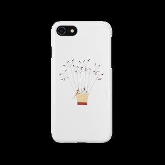 ヤマムラ エツコのユリカモメの気球 Smartphone cases