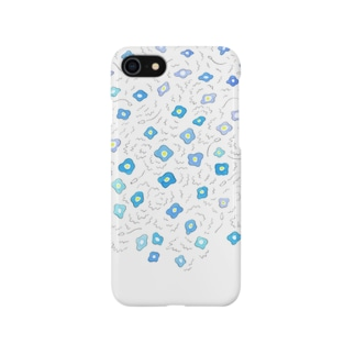 オオイヌノフグリ Smartphone cases