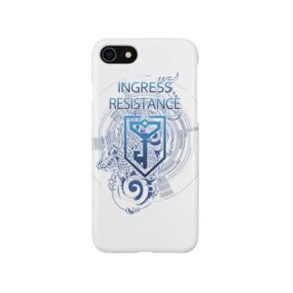 INGRESS RESISTANCE BlueDragon Smartphone cases