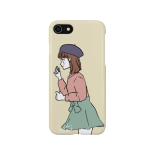 今日こそ好きって言う乙女[文字なし] Smartphone cases