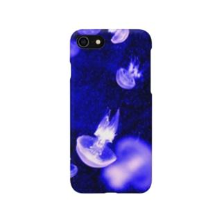 くらげB Smartphone cases