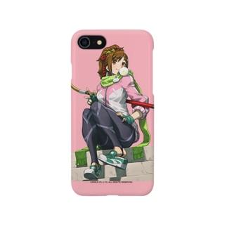FIGHTING EX LAYER - Sanane(ピンク) Smartphone cases