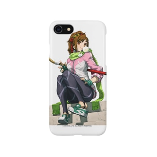 FIGHTING EX LAYER - Sanane(白) Smartphone cases
