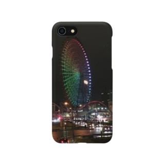 Night view スマホケース Smartphone cases