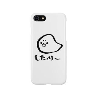 道産子あざらしくん Smartphone cases