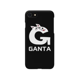 がんたのiphoneケース(ザ・G) Smartphone cases