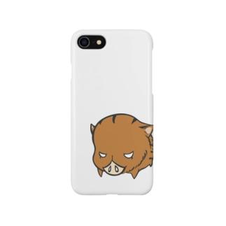 目つきの悪いうり坊「ワルウリ」 Smartphone cases