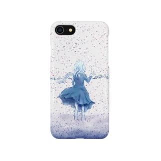 闇が降る雪原(iPhone 8/7/8Plus/7Plus/SE/5s/5向け) Smartphone cases