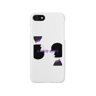 CRAZY GIRL Smartphone cases